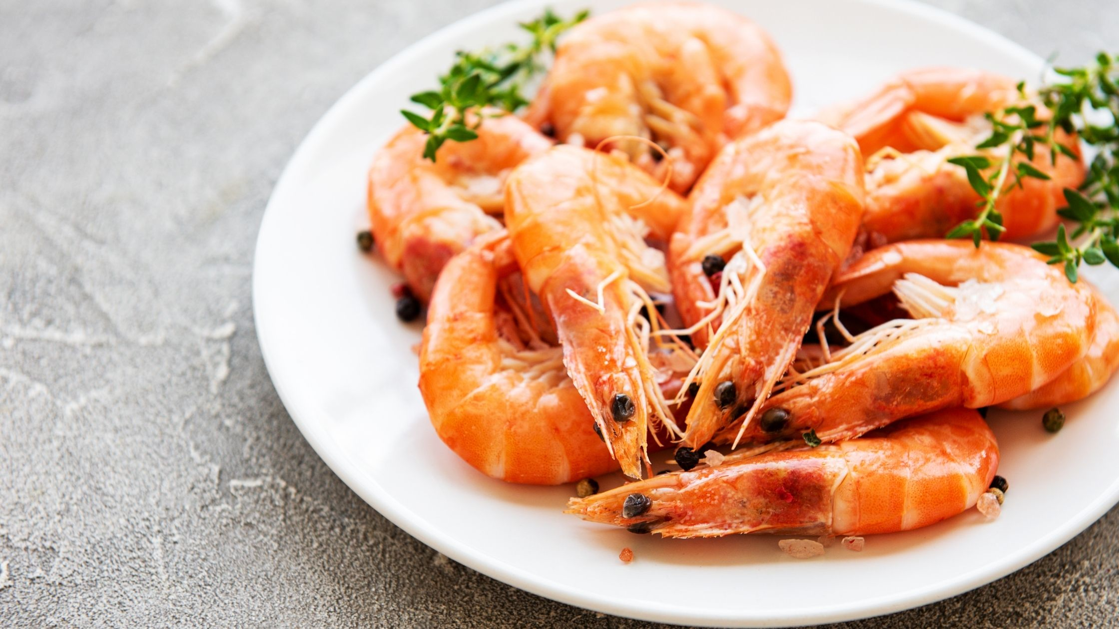 best keto fish - shrimps
