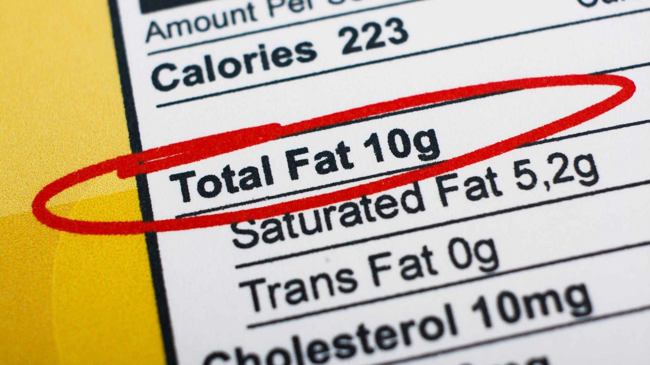 high-fat food